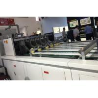 China High Speed / High Pressure Roll Die Cutting Stripping Machine For Hamburger Box wholesale