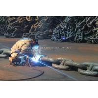 China Marine Anchor Chain Cable Studlink Anchor Chain Studless Mooring Chain wholesale