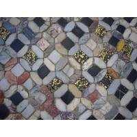China Rainbow color Glass Mosaic on sale