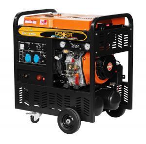 China 200A 7KW Diesel Compressor Welder Generator DC Charger 115PSI Pressure wholesale