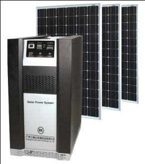 Quality Solar Power System 800W DC/AC Output Solar Power System for sale