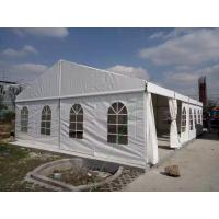 China Customized Size Aluminum Frame PVC Cover Outdoor Tent For Living / Storage wholesale