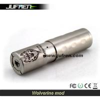 China 2014 new arrival clone mechanical mod e-cigarette matte stainless steel Jufren wolverine mod on sale