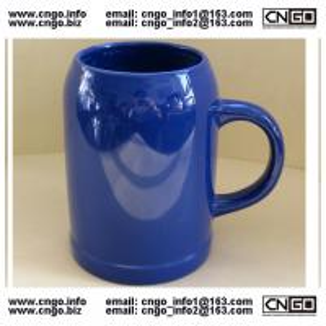 China wholesale glass beer mug ceramic beer cup custom LOGO 500ML beer mug on sale