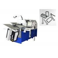 China Low Carbon Wire 3.0 - 8.0mm Computerized Forming Wire Bender Machine wholesale