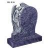 China Bahama blue granite angel tombstone wholesale