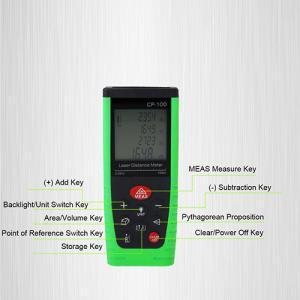 China Mini Size Digital Laser Distance Meter Build Tool , 80m Long Range Rangefinder wholesale