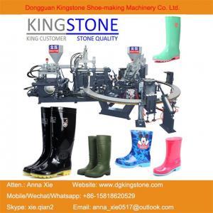 China Kingstone Machinery Manufacturer Rotary Gumboots Rain Boot Making Machine wholesale
