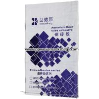 China OEM & ODM Reusable Coated PP Woven Bags Waterproof  for Packing Tiles Adhesive wholesale
