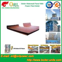 China CFB 110 MW Boiler Water Wall Panels For High Temperature Solid Fuel Boiler wholesale