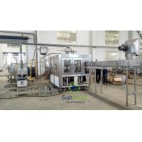 Buy cheap High Speed Stainless Steel  Filling Machine Juice Production Line from wholesalers