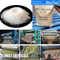 China Zetag 4120 Equivalent Anionic Polyelectrolyte Flocculants For Flotation Dewatering and Water Treatment wholesale