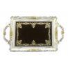 China Shop Decorative Personalized Vanity Tray , Ployresin Bathroom Vanity Tray wholesale