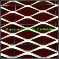 China decorative expanded metal mesh wall covering panels on sale