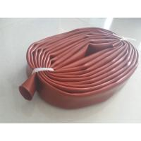 China Red Color Food Grade Silicone Tubing / Belt With High And Low Pressure Resistance wholesale