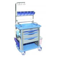 China Hospital ABS Nursing Medical Trolleys ARC Handle For Nurse Use , BT-NY001 wholesale