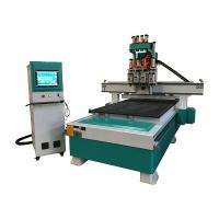 China Double spindles Multi-driller Automatic Machining Center for panel furniture on sale