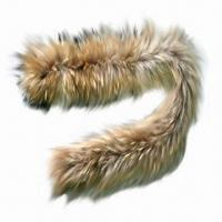 China Raccoon fur scarf, customized designs are accepted wholesale