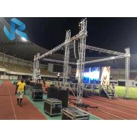 China 12 * 12m Truss Speaker Stand With Wing , Aluminum Ladder Truss Easy To Install on sale
