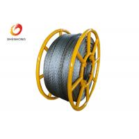 Buy cheap Hexagon 12 Strands Galvanized Anti Twisting Steel Wire Rope Pilot Rope from wholesalers