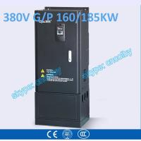 China 160kw 185kw motor pump 50Hz/60Hz AC drive CNC Variable-Frequency Drive VFD AC-DC-AC Low Voltage frequency converter wholesale