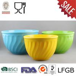 China 3PCS Melamine Mixing Bowl Set with wholesale