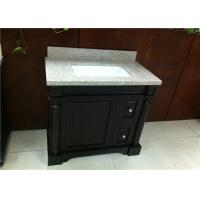 Buy cheap Anti - Stain Single Bathroom Vanity Cabinet Single Sink For Home / Hotel from wholesalers