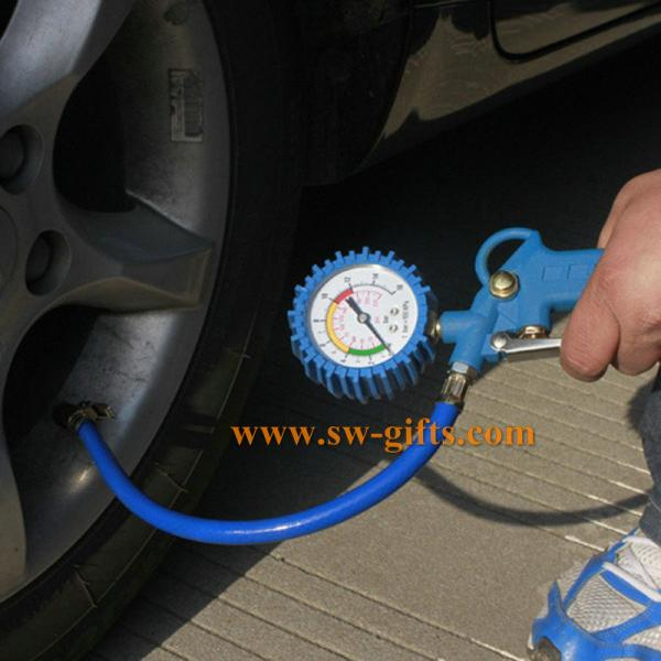 Quality 0-220PSI Self-locking Auto Car Wheel Tire Air Pressure Gauge Meter Tyre Tester Vehicle Monitoring System for sale