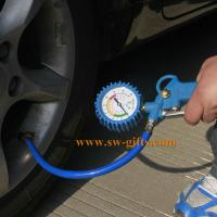 China 0-220PSI Self-locking Auto Car Wheel Tire Air Pressure Gauge Meter Tyre Tester Vehicle Monitoring System wholesale