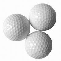 China Golf Balls, Customized Logos are Accepted wholesale