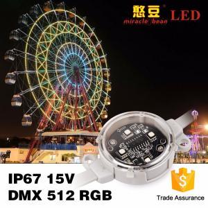 China Building Lighting 40mm 50mm DC24V Waterproof rgb LED pixel Light wholesale
