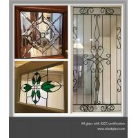 colorful decorative glass for windows and doors