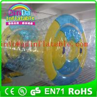 China New style Games smart park Inflatable water poll roller giant colorful inflatable roller on sale