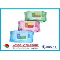 China Various Packages Baby Wet Wipes Plain Spunlace Nonwoven 45GSM Fragrance Free wholesale