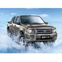 China Gasoline Engine Double Cabin 4x4 Pickup Truck Left Hand Driving Euro IV Standard on sale