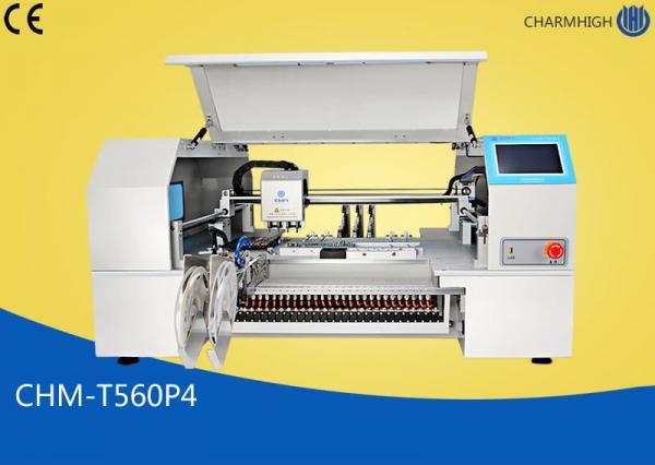 Quality CHMT560P4 Desktop SMT Pick And Place Machine 60pcs Yamaha pneumatic Feeders for sale