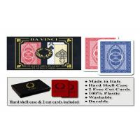 China 100% Plastic Da Vinci Route Marked Playing Cards For Poker Cheat Bridge Size wholesale