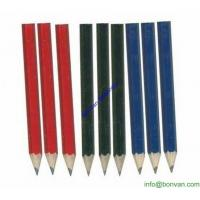 China Cheap and High Quality Golf Penils, golf marking short mini Hb pencil wholesale