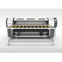 High Resolution UV Curing Ink Roll To Roll Printing Machine With CMYK Color