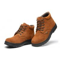 China Anti Prick Work Safety Shoes Lightweight Steel Toe Shoes For Working Protection wholesale