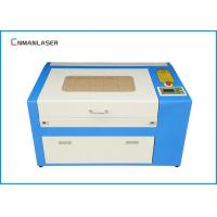 China Plastic Acrylic Paper 60w Mini Laser Cutting Machine With DSP Control wholesale
