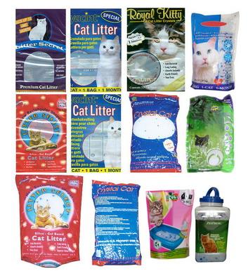 Silica Dioxide Cat Litter