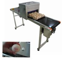 China Remote Control Eggs Code Printing Machine With Full Plate Spray Printing Way wholesale