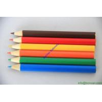 China 3.5 inches colours pencils, gift color pencil,wooden colored pencil for stationery school wholesale