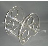 China Three Holes Acrylic Wine Holder Rack WR-01 wholesale