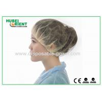 China Colored bouffant caps disposable Breathable Round surgical head cover wholesale