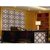 China Leather Home Decor Wallpapers Home Decoration Accessories , Customized 3D Wall Panel wholesale