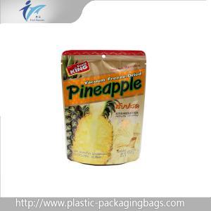 Buy cheap Le trou rescellable de cintre tiennent l'empaquetage de fruits lyophilisé par poches de vide from wholesalers
