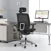 China No Noise President Swivel Chair , Sliding High Back Mesh Office Chair wholesale