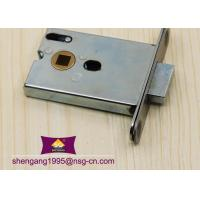 China Office Building Toilet Mortise Door Lock Italian / European Mortise Lock Body wholesale